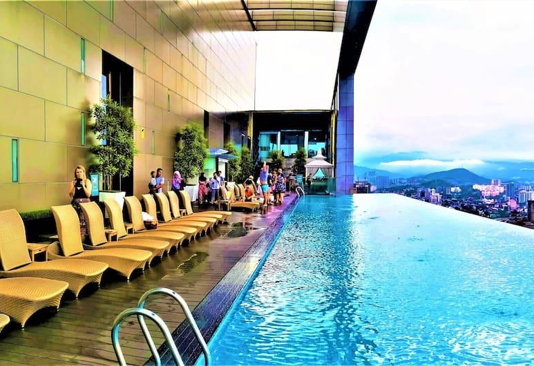 Saba Suites at The Platinum KLCC Bukit Bintang Kuala Lumpur, Kuala Lumpur, Rooftop Pool