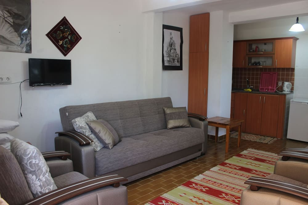 Family Apartment - Living Room
