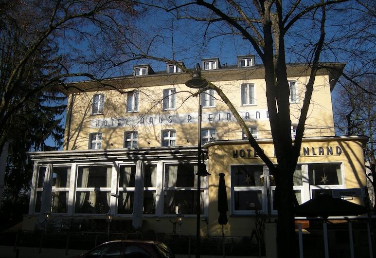 Hotel Rheinland, Bonn, Fassaad