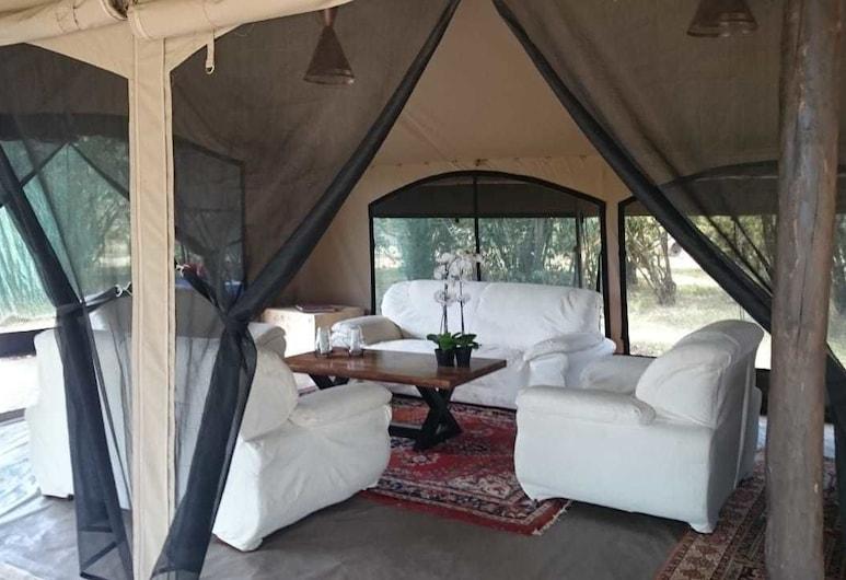 Hammerkop Migration Camp, Maasai Mara, Lounge i lobbyn