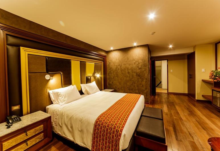 Yawar Inka Hotel, Cusco, Apartmá typu Deluxe, dvojlůžko (200 cm), Pokoj