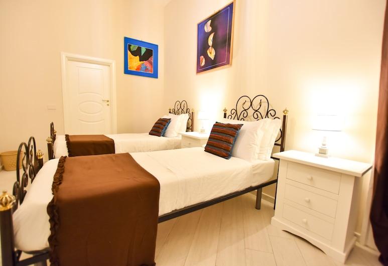 多慕斯波爾波尼卡酒店, 那不勒斯, 舒適雙床房, 2 張單人床, 獨立浴室, 客房