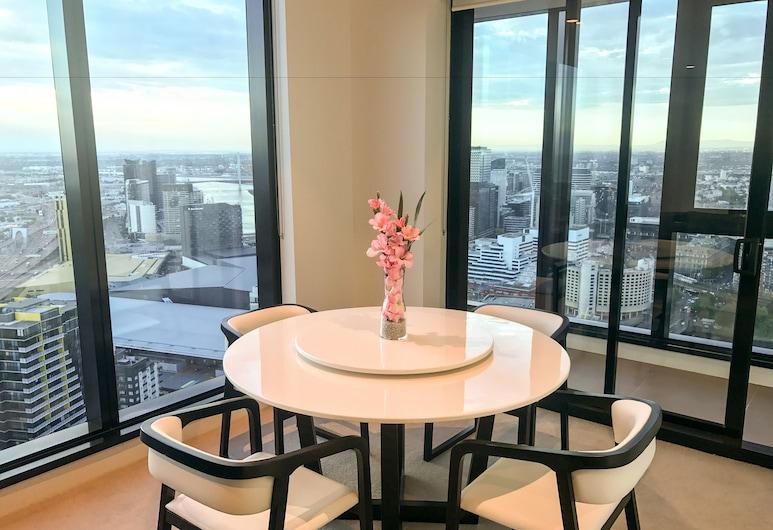 Melbourne Southbank Platinum Tower Apartment , Southbank, Rodinný apartmán, 3 spálne, výhľad na oceán, Izba
