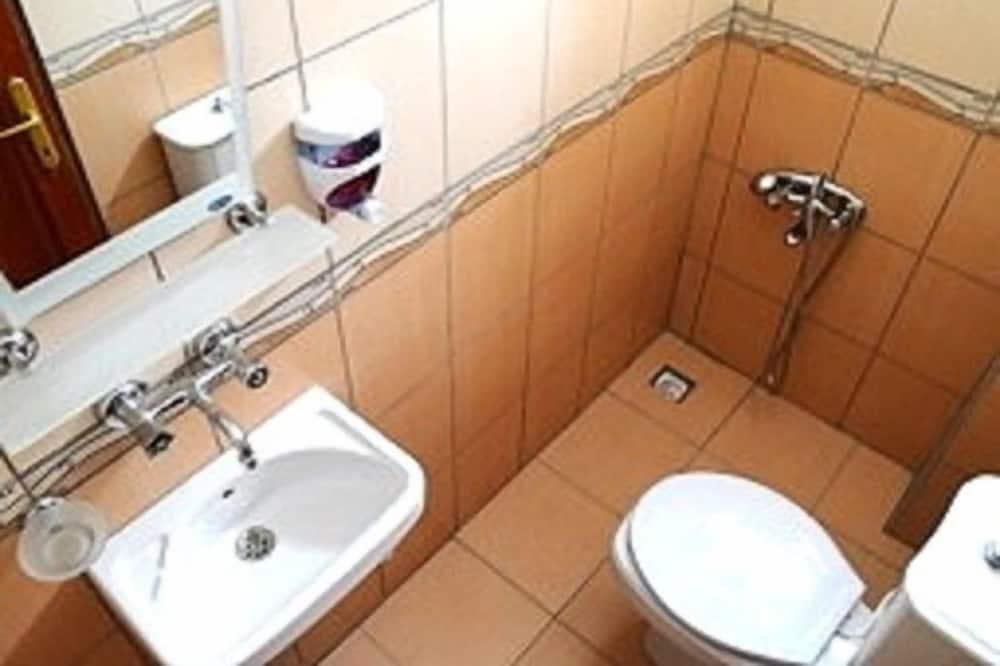חדר אקונומי טווין - חדר רחצה