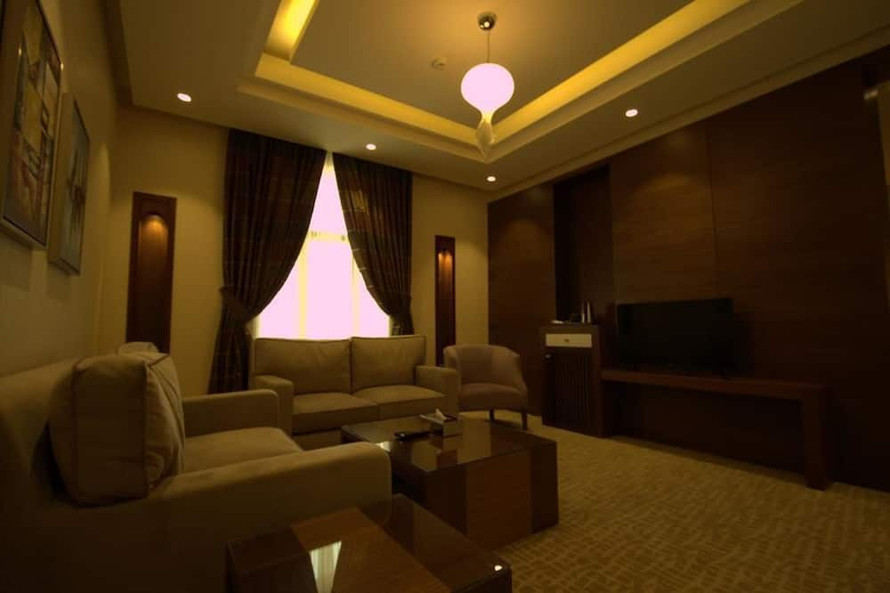 ห้องสวีท, 2 ห้องนอน (Amiri) - ห้องนั่งเล่น