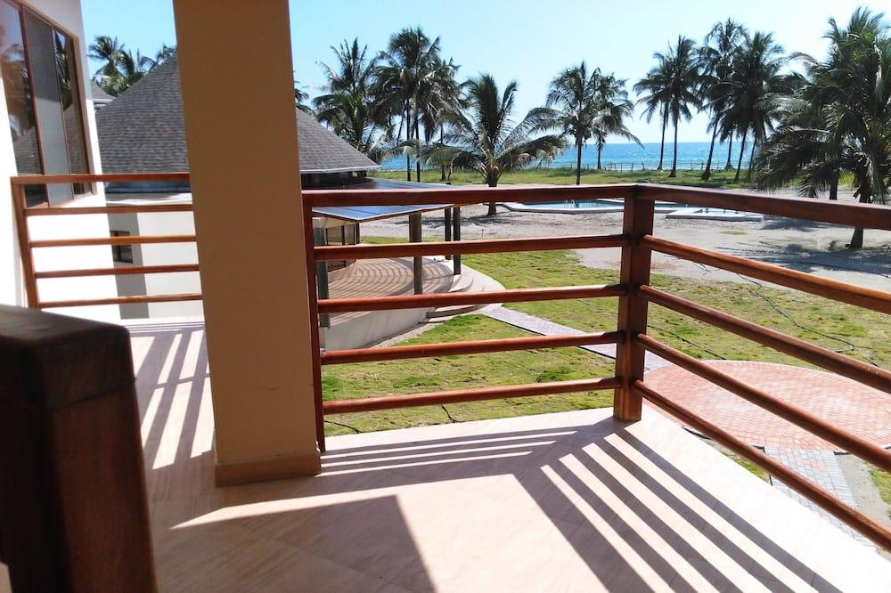 Standard Triple Room, 3 Katil Bujang (Single), Ocean View, Beachside - Balkoni