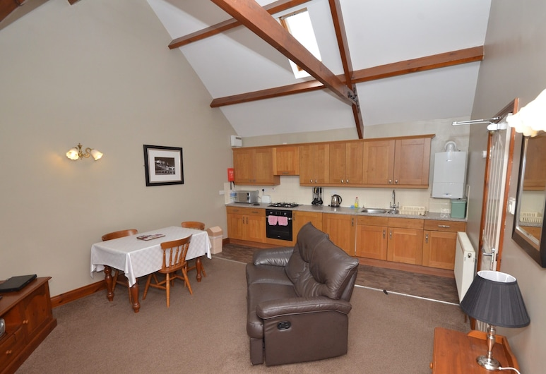 Plawsworth Aparthotel, Chester-le-Street, Leilighet – standard, eget bad (1 Bedroom 1 Bathroom- On), Rom