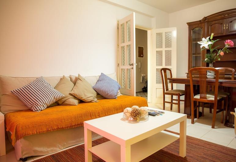 B01 - 夢想阿爾加維市中心 2 床公寓酒店, 拉戈斯, 客廳