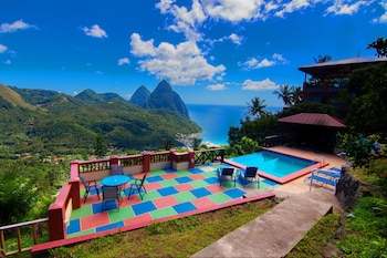 Picture of Samfi Gardens in Soufriere