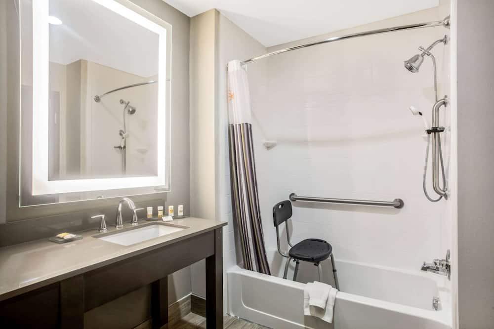 Δωμάτιο, 1 King Κρεβάτι, Πρόσβαση για Άτομα με Αναπηρία, Μη Καπνιστών (Mobility Accessible) - Μπάνιο