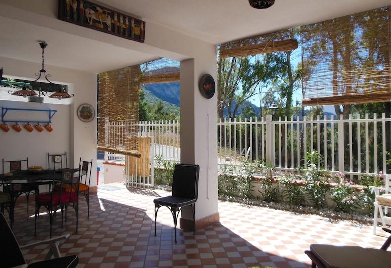 Casa Perciata, Palermo, Lägenhet - 2 sovrum - rökare - viss havsutsikt, Terrass