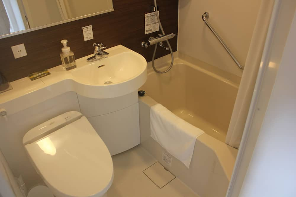 Small Double Room - Free-flowing drinks1hour (Within 15:00-20:00 only) - Bathroom