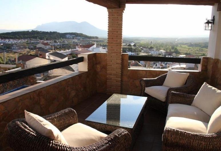 Apartamentos Alhanda, Benamaurel, Apartament typu Premium, 1 sypialnia (2 adults + 2 kids), Taras/patio
