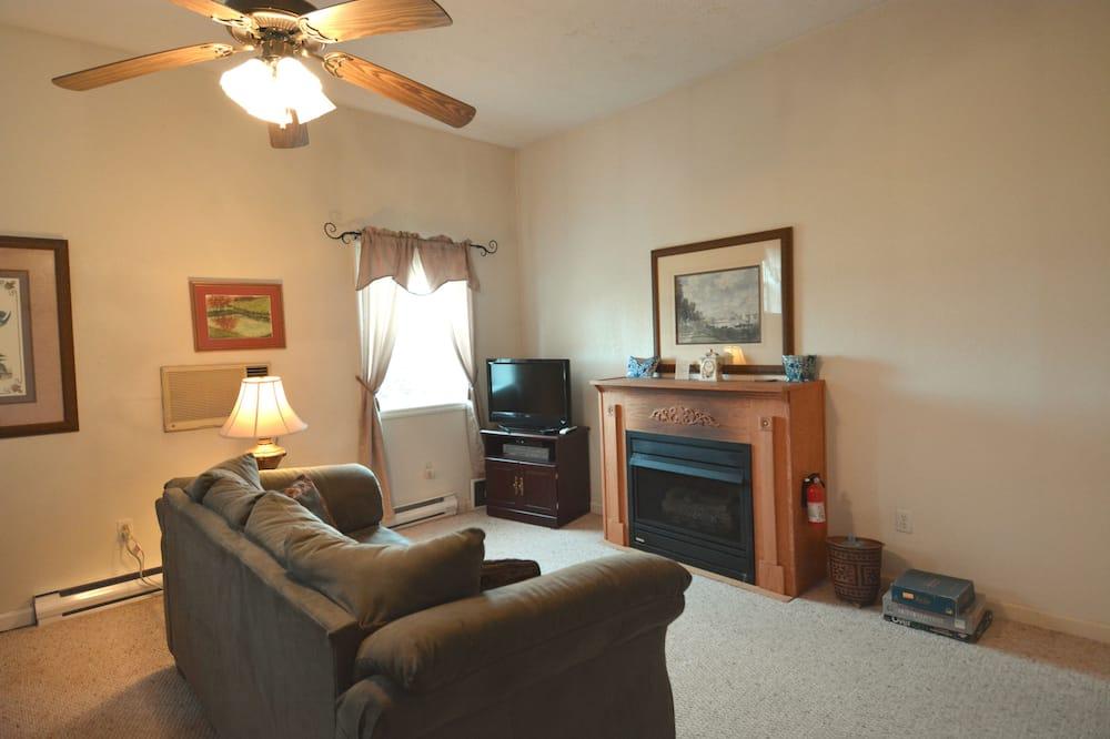 Suite, salle de bains privée (Allegheny Suite) - Coin séjour