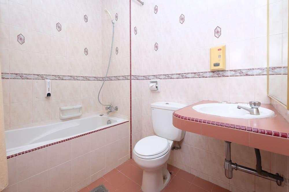 ห้องดีลักซ์ทวิน, วิวสวน - ห้องน้ำ