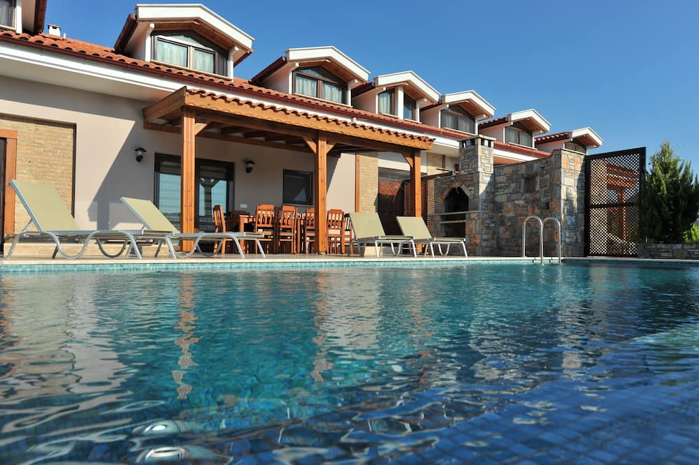 Villa - Ausblick vom Zimmer
