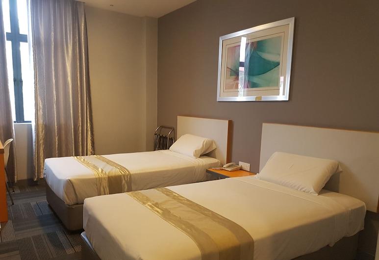 U Pac Hotel, Kuala Lumpur, Deluxe Twin Room, Guest Room