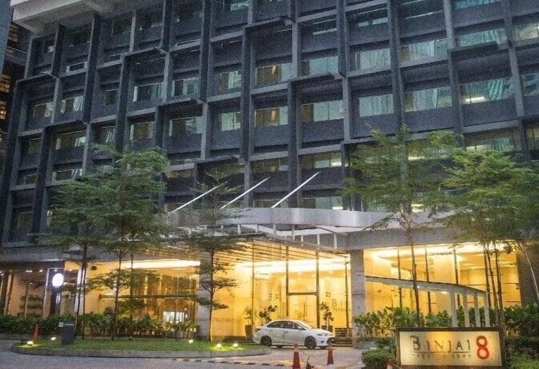 比恩套房酒店, 吉隆坡, 住宿正面