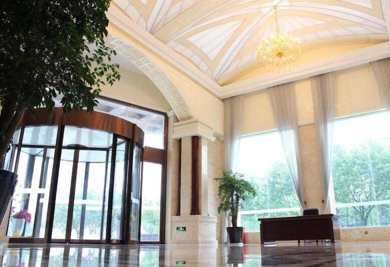 ZiJinTongXin Hotel, Shanghai, Interior Entrance