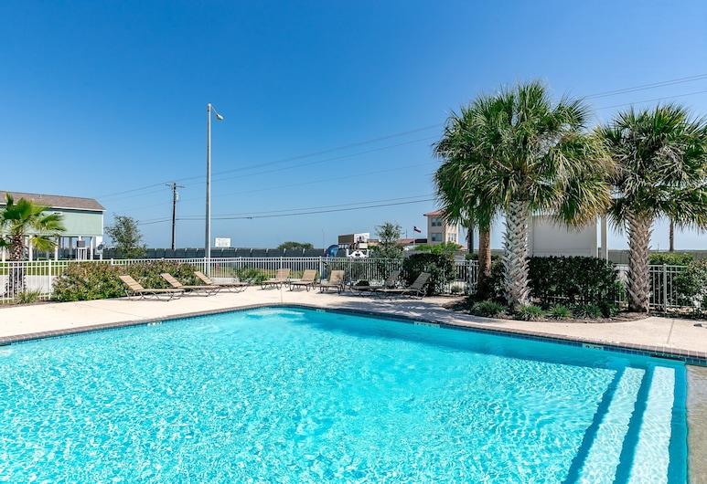 新亲子罗克波特海滩别墅 3 居之家酒店, 罗克波特, 独立别墅, 4 间卧室, 游泳池