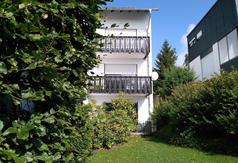 Ferienwohnung Erlebnisberg, Vinterberga, Terase/iekšējais pagalms