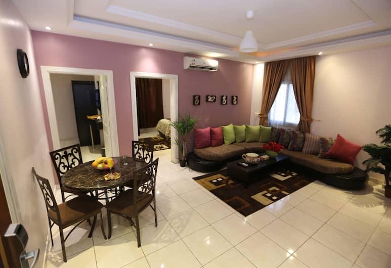 Dar Beirut Hotel Apartments, Djeddah, Appartement, 1 chambre, Coin séjour