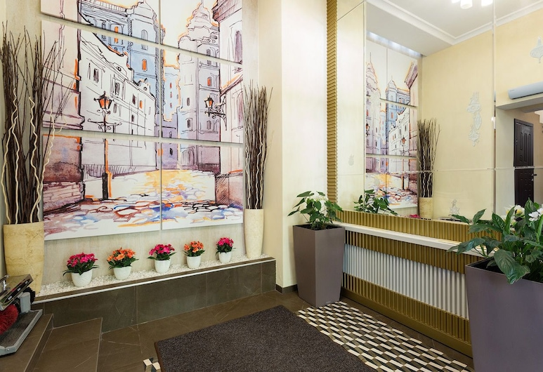 Parkoff Hotel, Moscow, Lobby