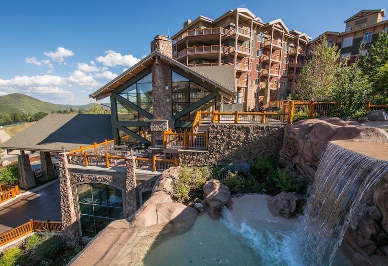 Canyons Village Condos by All Seasons Resort Lodging, פארק סיטי, מזרקה