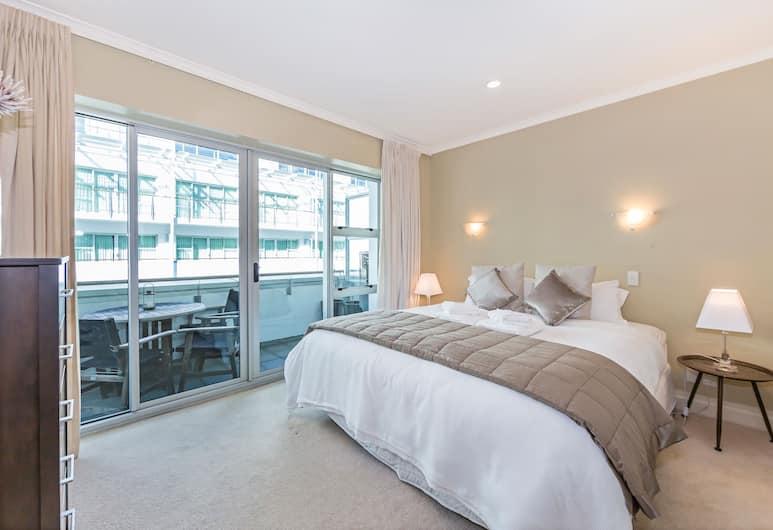 Large 1BR Apartment at the Waterfront, Auckland, Deluxe-íbúð - 1 svefnherbergi, Herbergi