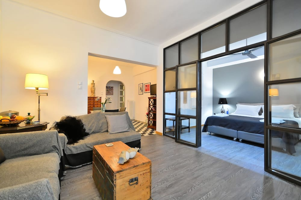 Апартаменти, 2 спальні, з видом на місто - Житлова площа