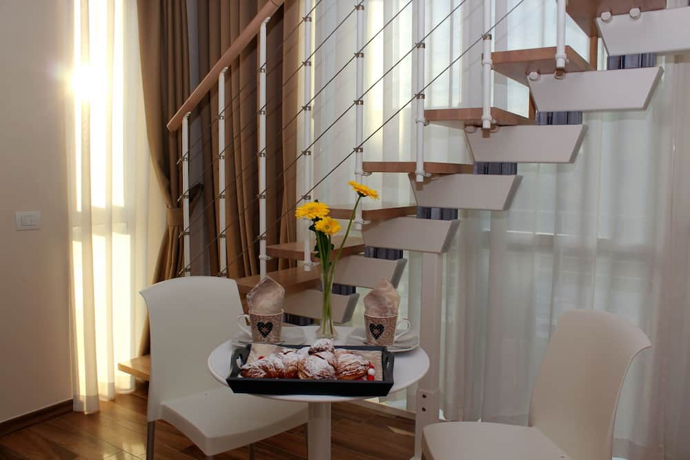 Apartament typu Suite - Powierzchnia mieszkalna