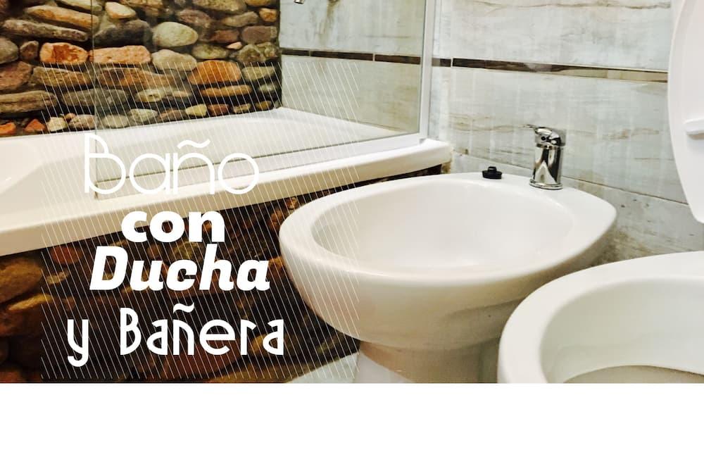 Hytte - 3 soveværelser - Badeværelse