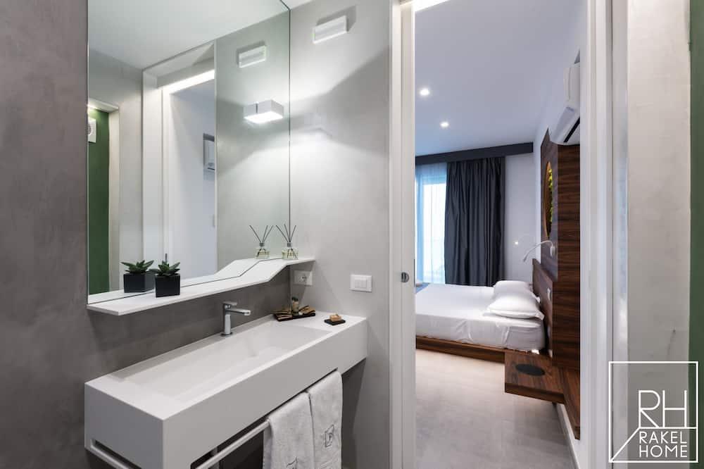 Deluxe-dobbeltværelse - balkon (Wasabi) - Badeværelse