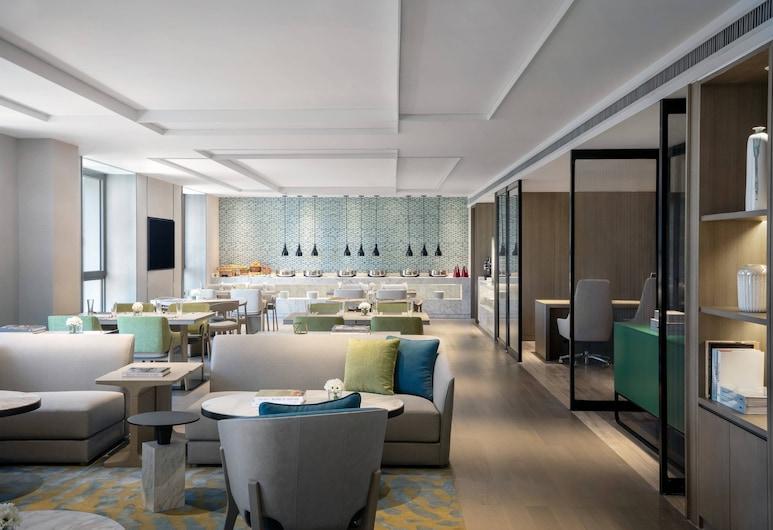 Courtyard by Marriott Tianjin Hongqiao, Tianjin, חדר אקזקיוטיב, מיטה זוגית, ללא עישון, בר המלון