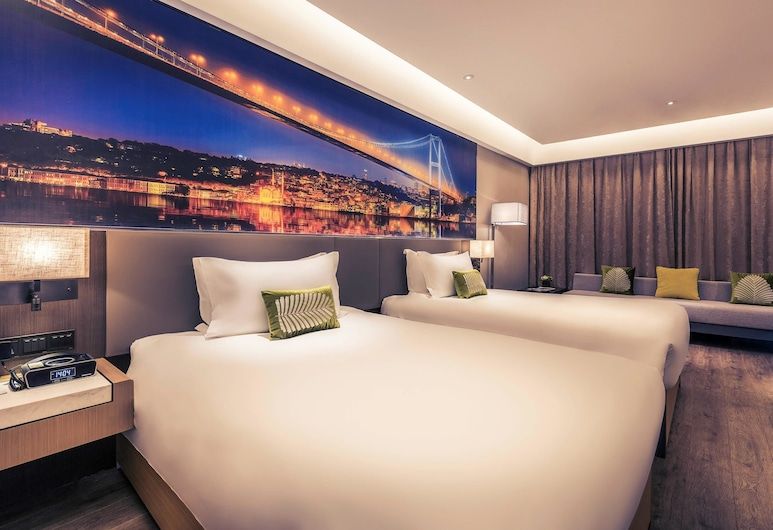 Mercure Shanghai Hongqiao Railway Station, Shanghai, Deluxe Room, 2 Twin Beds, Guest Room