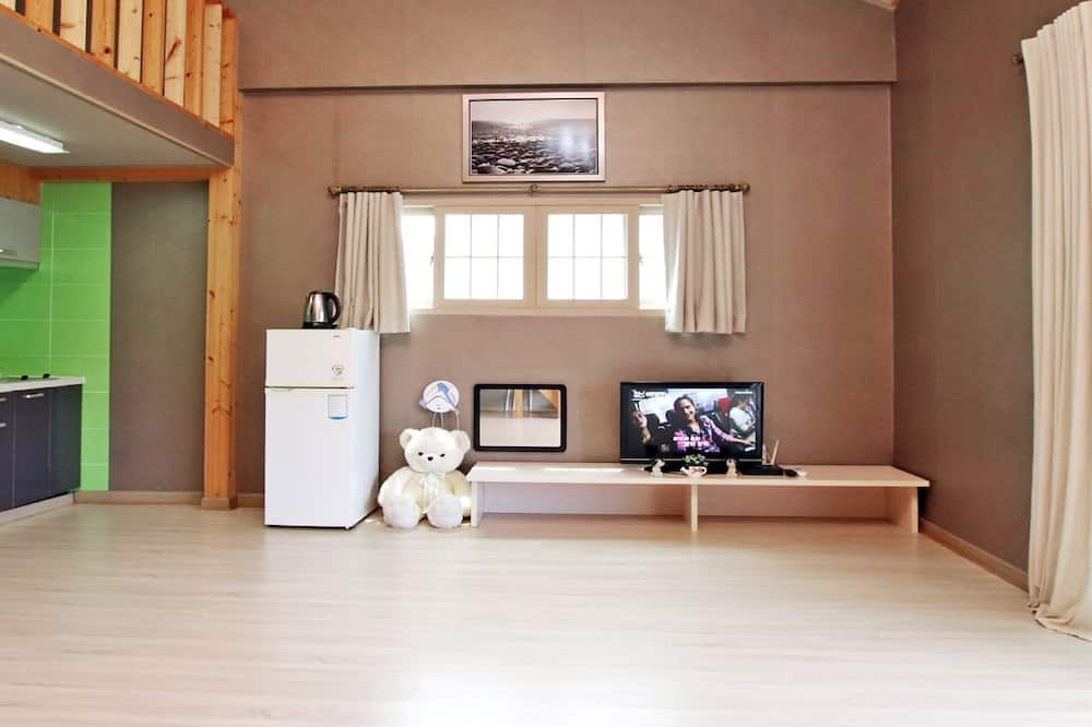 Deluxe Family Duplex - Living Area