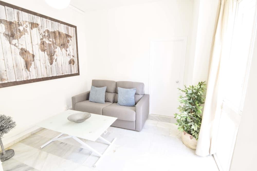 Căn hộ, 1 phòng ngủ, Ban công (Carreteria 111) - Khu phòng khách