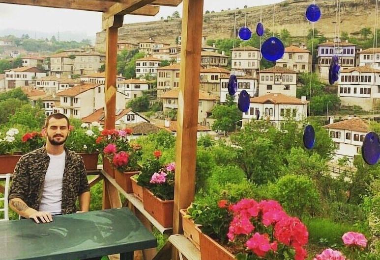Yeni Konak Hotel, Safranbolu, Terrace/Patio