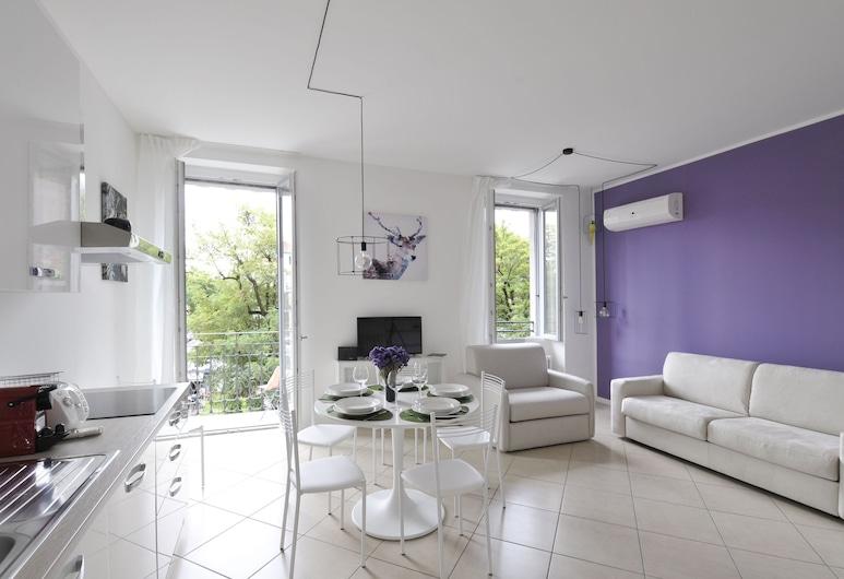AT Home Heart of Milan - City Apartment, Milano, Standard Apart Daire, 1 Yatak Odası, Balkon, Şehir Manzaralı, Oturma Alanı