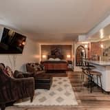 Студия, 1 двуспальная кровать «Квин-сайз» - Зона гостиной