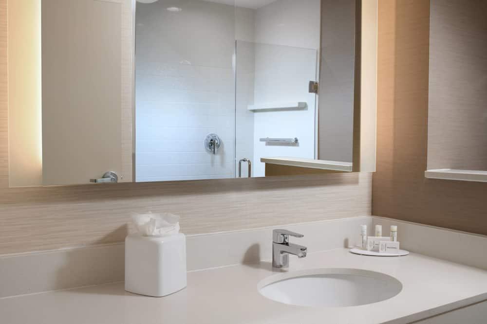 Suite, 1 cama de matrimonio grande, no fumadores - Cuarto de baño