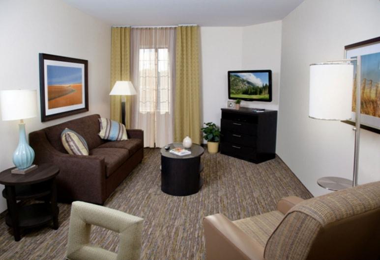 Candlewood Suites Topeka West, Topeka, Suite, 1 kamar tidur, non-smoking (1 Queen Bed), Kamar Tamu