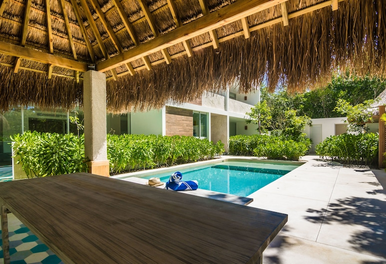 Casa Kulte 2 bedroom apartment sleeps 6, Tulum, Z zewnątrz
