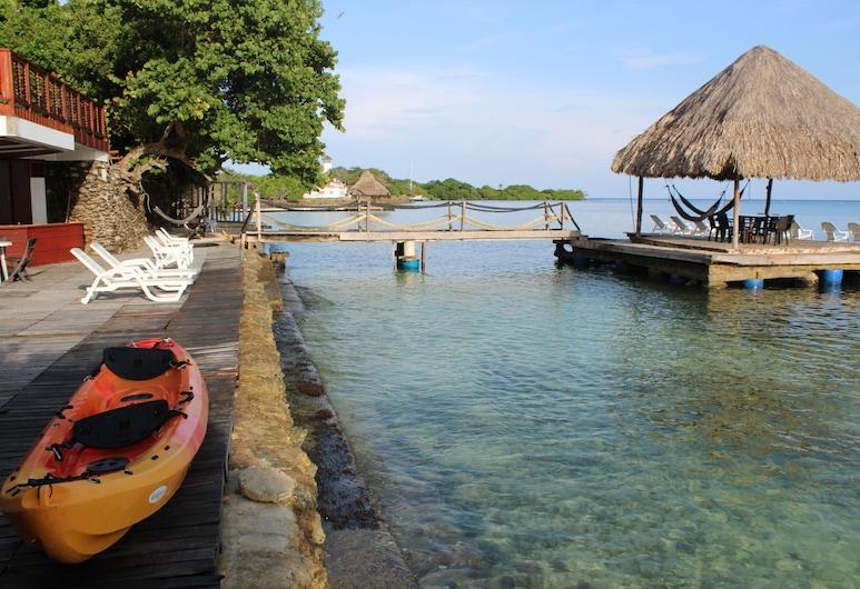 إيكو هوتل كازا بلانكا, جزر روزاريو, تِراس/ فناء مرصوف