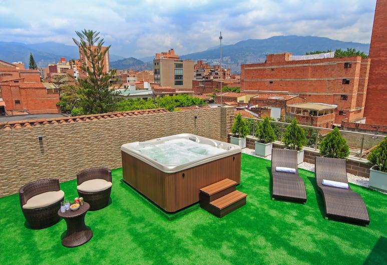 OBO Hotel, Medellin, Terrass