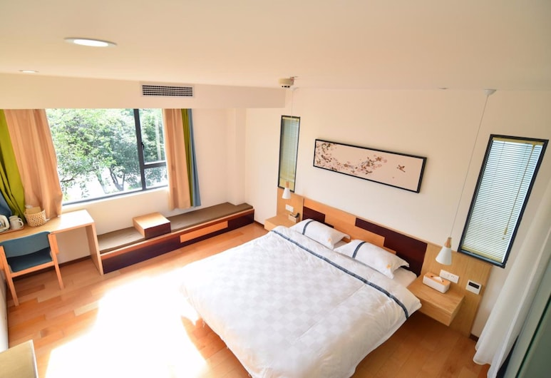 Ease Hostel, Guilin, Double Room With River View, Guest Room