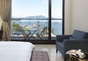 魚池日月潭湖悅旅店的相片
