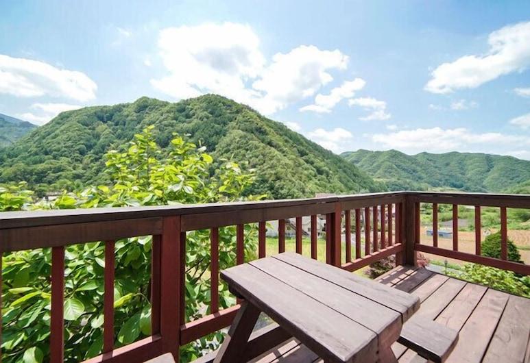 Danyang Sobaeksan Jarack Pension, Danyang, Condo (World), Balcony