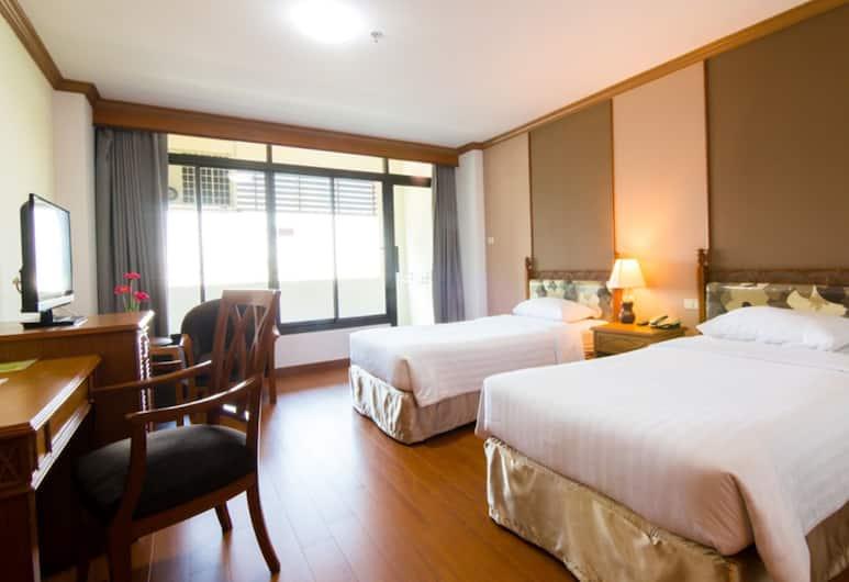 KU Home Hotel, Bangkok, Standard Twin Room, Guest Room