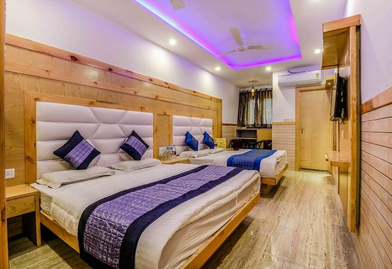 光輝旅館酒店, 新德里, 家庭客房, 吸煙房, 私人浴室, 客房